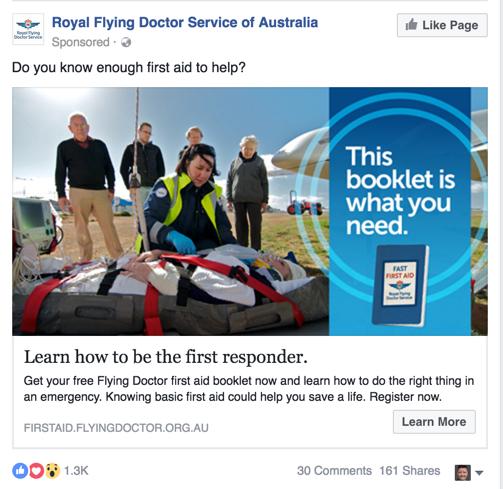 facebook advertising for rtos